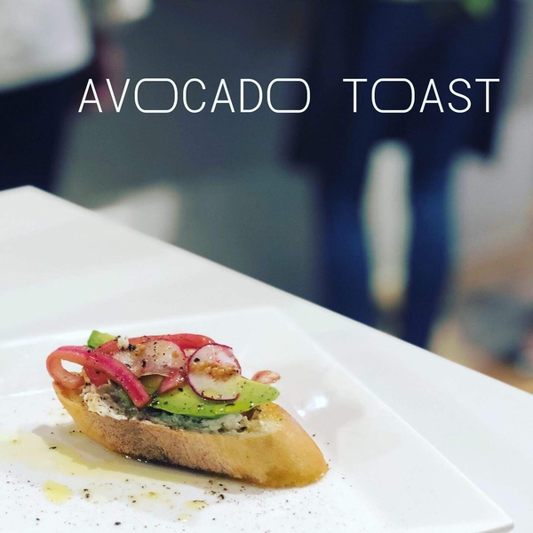 Avocado Toast with Radish and Pickled Red Onion