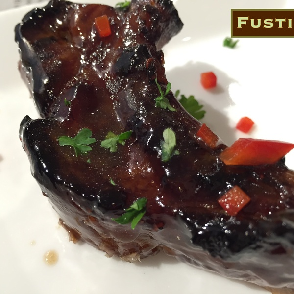 Baby Back Ribs with Asian Blackberry Glaze