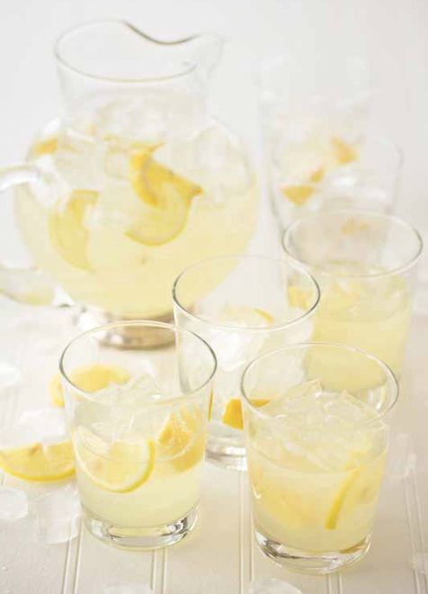 lemons and lemon drink