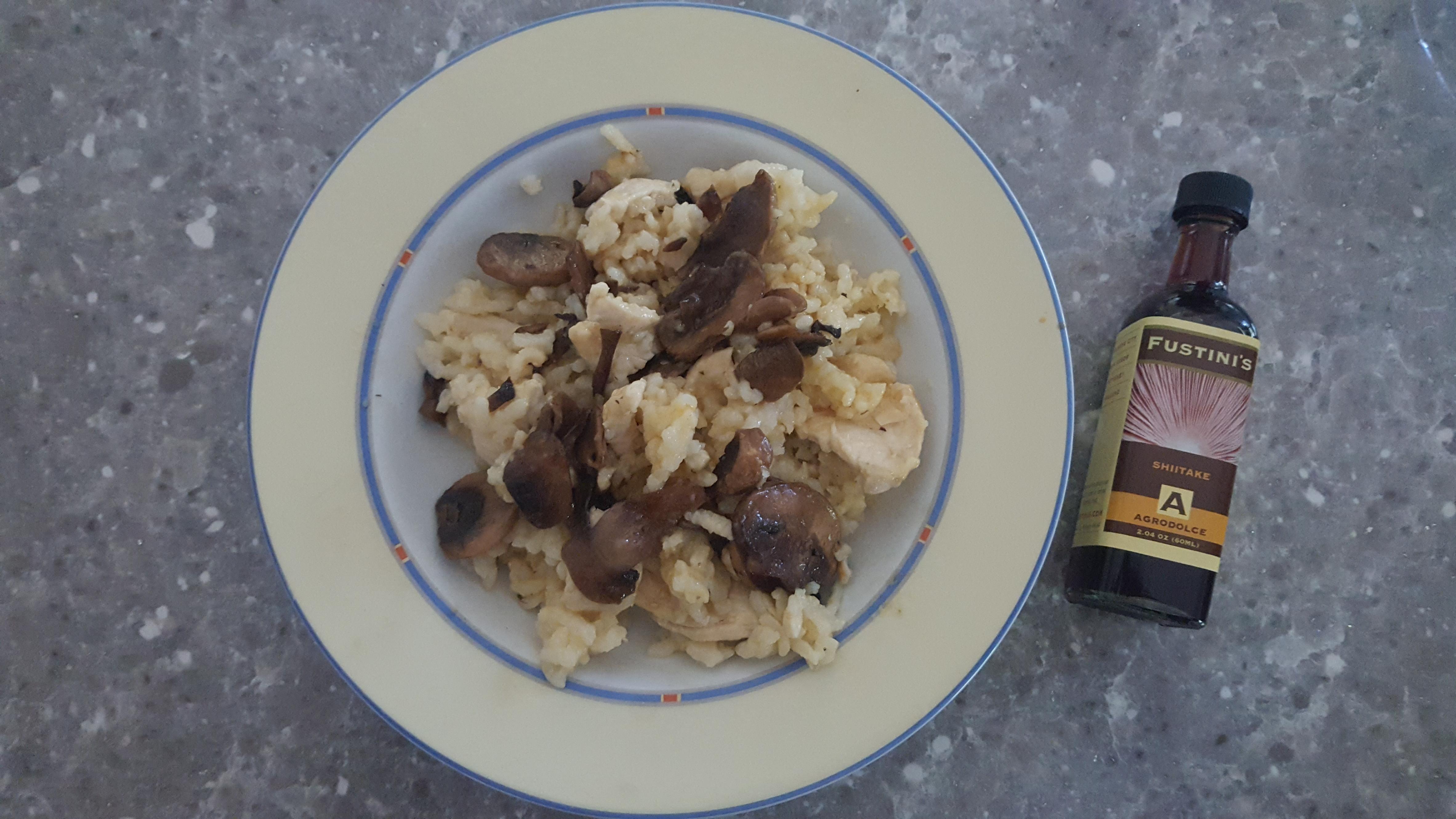 Chicken And Mushroom Risotto Recipes Fustini S Oils And Vinegars