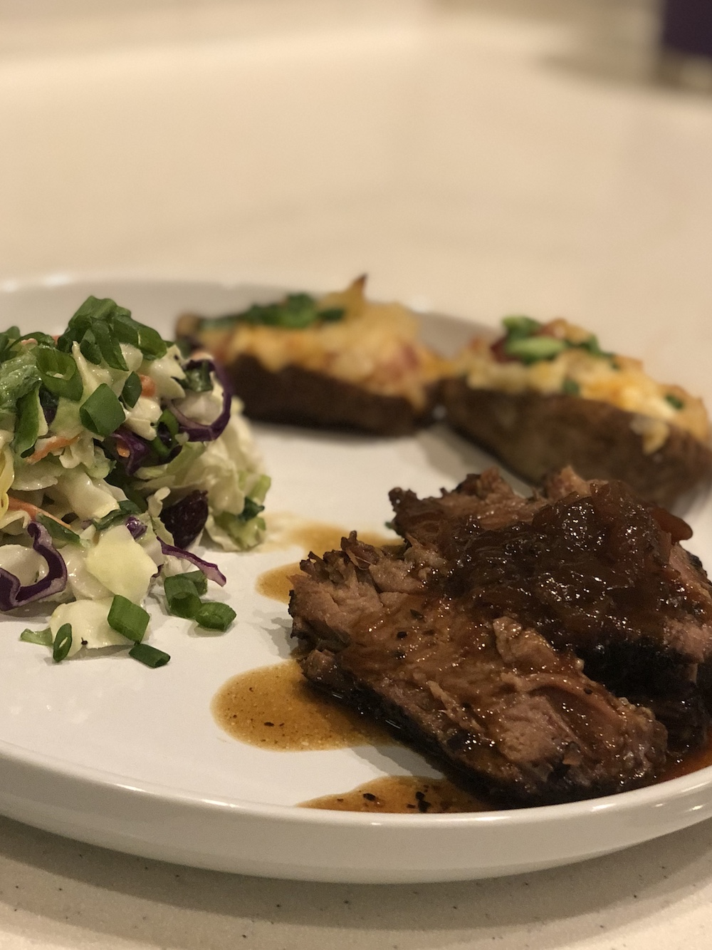 Hard Apple Cider Braised Brisket